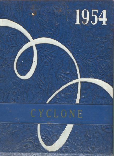 1954 Copemish High School Yearbook Cover