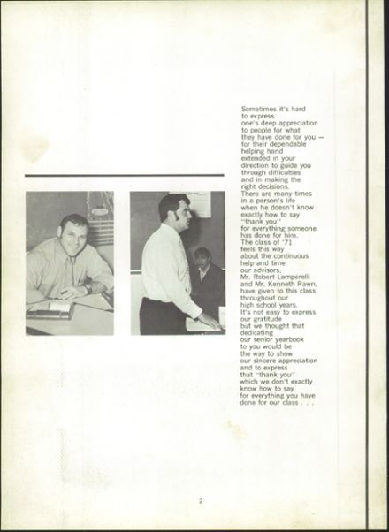 Explore 1971 Montville High School Yearbook, Oakdale CT