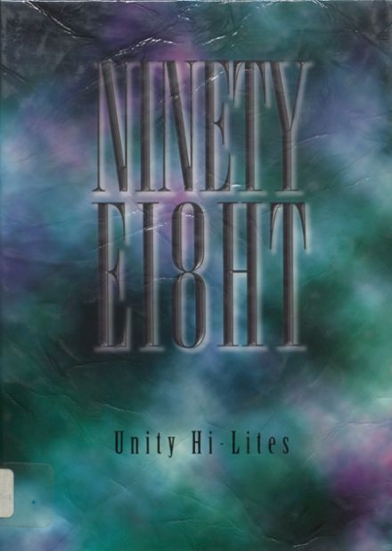 1998 Unity High School Yearbook Cover