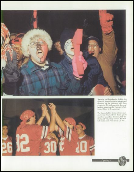 1992 Union High School Yearbook Page 7