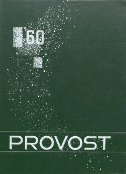 1960 Provo High School Yearbook Cover