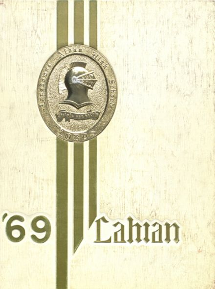 1969 Lansdowne-Aldan High School Yearbook Cover