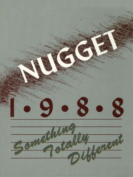 1988 Cupertino High School Yearbook Cover