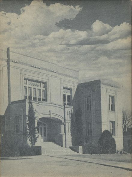 1951 New Braunfels High School Yearbook Cover