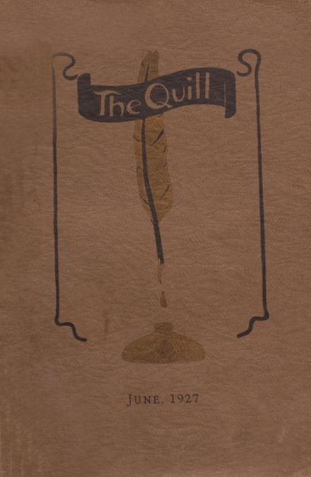 1927 East High School Yearbook Cover