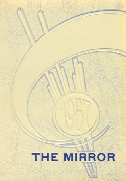 1957 Spring Valley High School Yearbook Cover