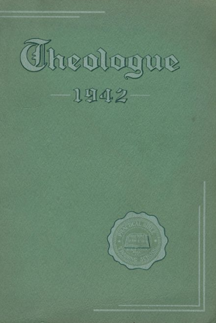 1942 Davis College Yearbook Cover