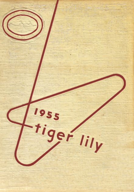 1955 Port Allegany High School Yearbook Cover