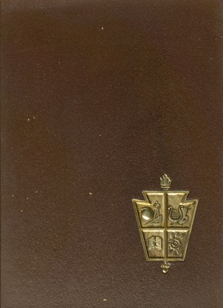 1967 Oxford Area High School Yearbook Cover