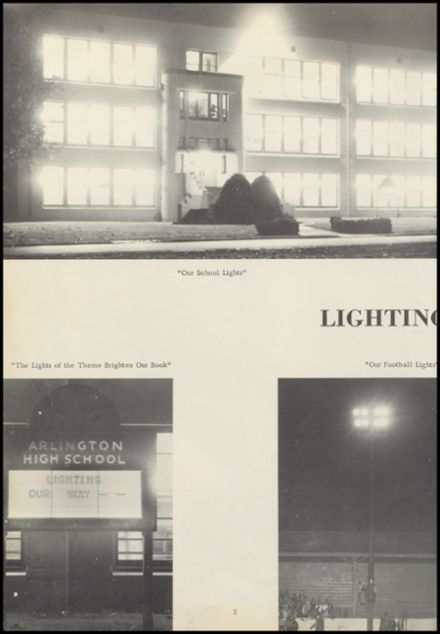 1961 Arlington High School Yearbook Page 6