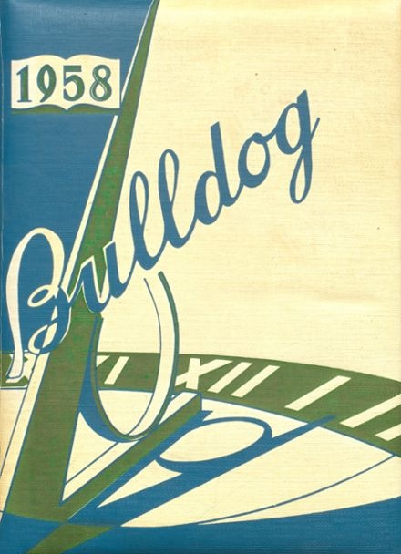 1958 Bratton Union Consolidat High School Yearbook Cover