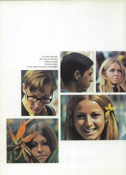 1970 Monroe High School Yearbook Page 6