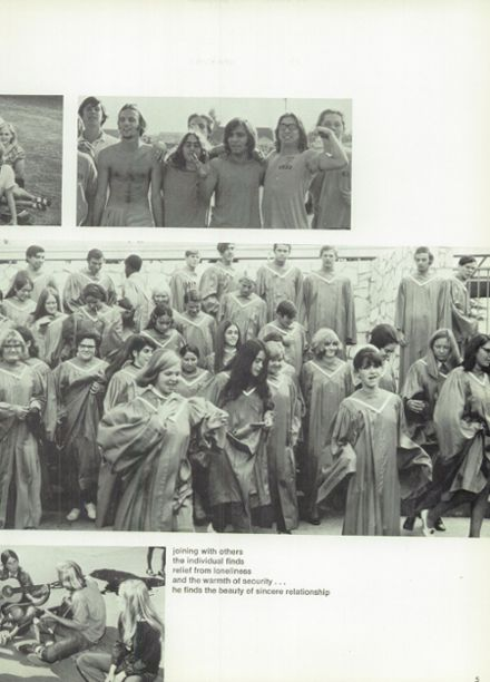 1970 Monroe High School Yearbook Page 9