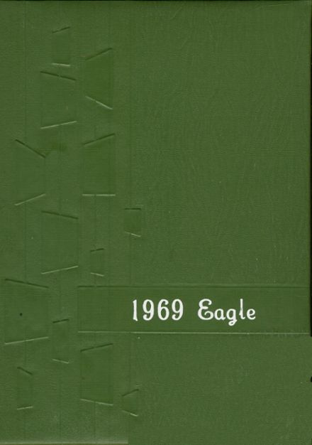 1969 Lineville High School Yearbook Cover