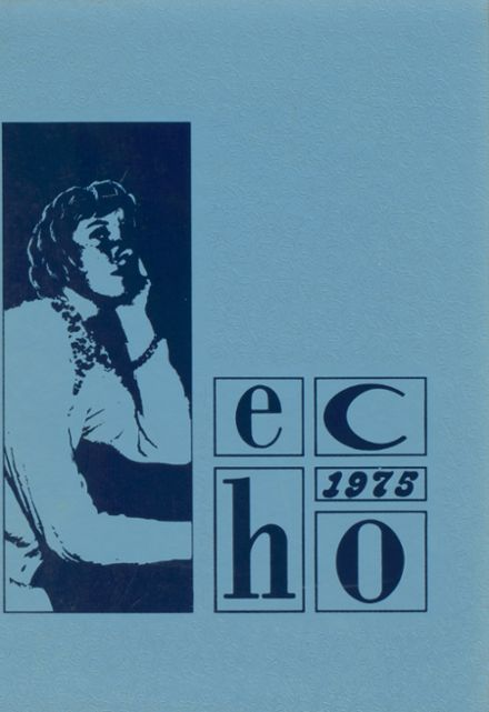 1975 Graham High School Yearbook Cover
