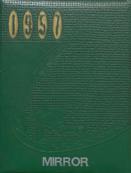1957 Melvin-Sibley High School Yearbook Cover