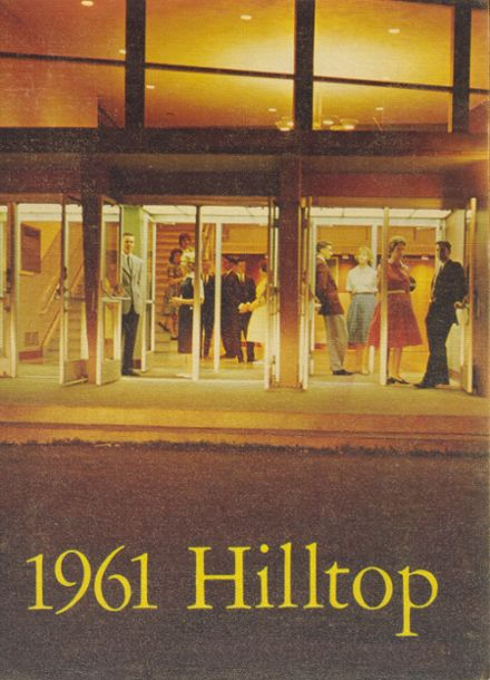 1961 Burnt Hills-Ballston Lake High School Yearbook Cover