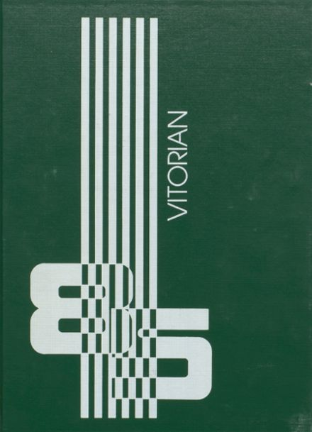 1985 V.I.T. High School Yearbook Cover