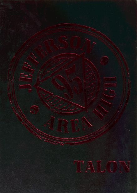 1995 Jefferson Area High School Yearbook Cover