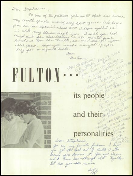 1962 North Fulton High School Yearbook Page 7