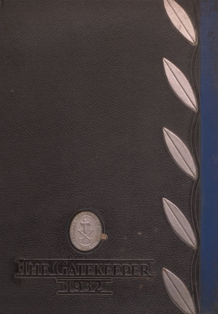 1932 St. Peter's High School Yearbook Cover