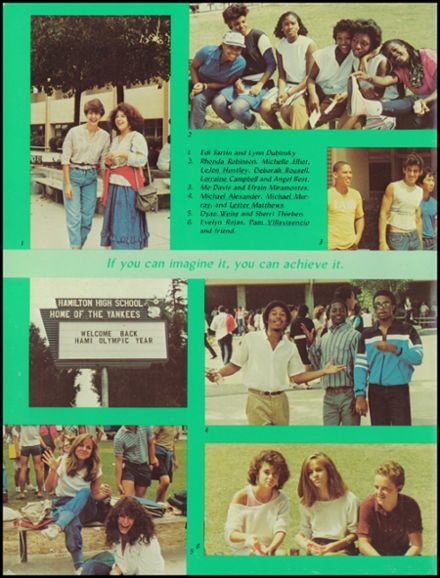 1984 Alexander Hamilton High School Yearbook Page 6