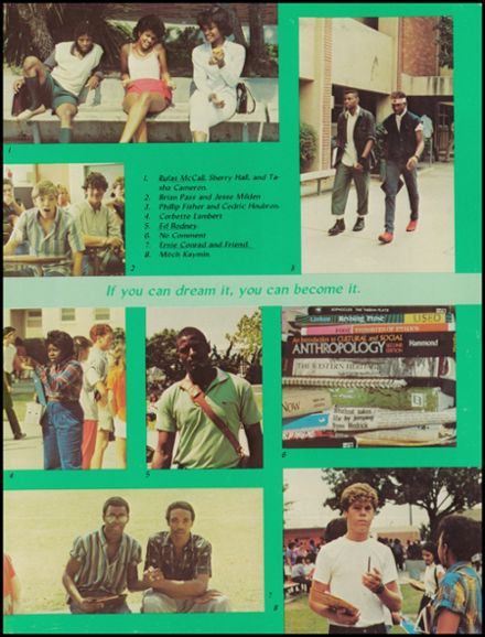 1984 Alexander Hamilton High School Yearbook Page 7