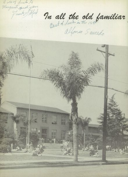 1954 San Bernardino High School Yearbook Page 6