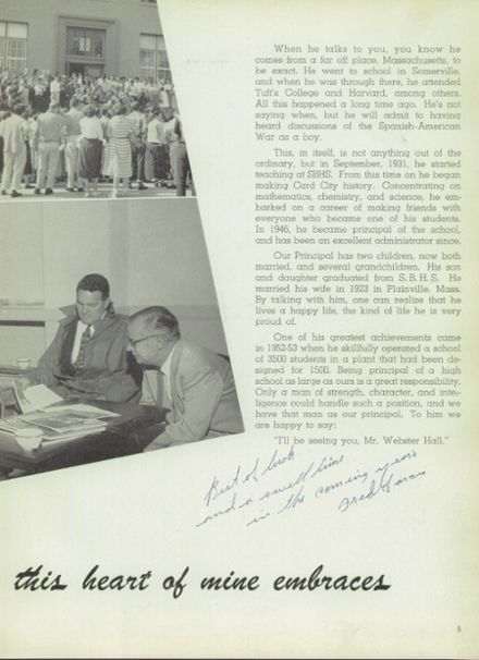 1954 San Bernardino High School Yearbook Page 9