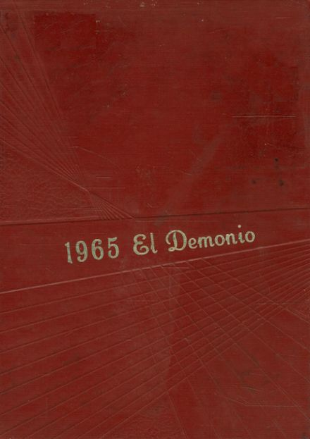 1965 Dysart High School Yearbook Cover