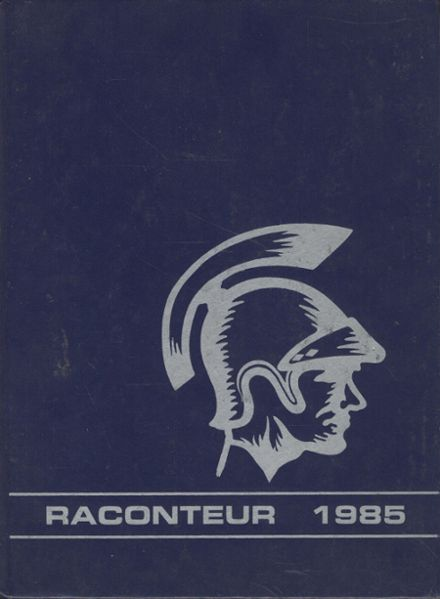 1985 Maine-Endwell High School Yearbook Cover