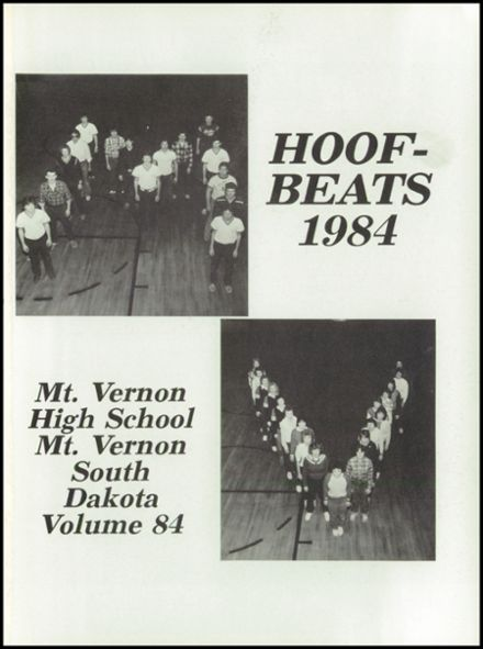 1984 Mt. Vernon High School Yearbook Page 5
