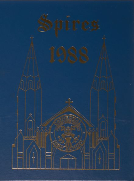 1988 Cathedral High School Yearbook Cover
