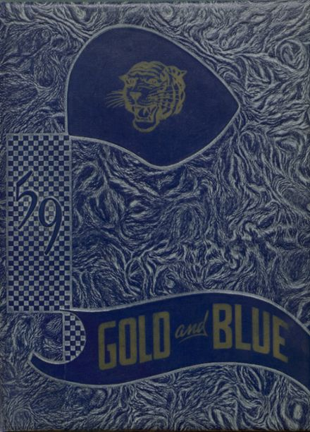 1959 Newkirk High School Yearbook Cover