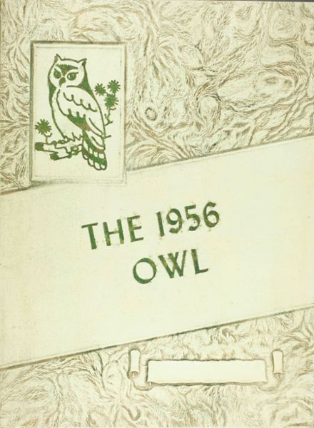 1956 Odem High School Yearbook Cover