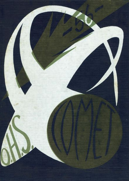 1956 Otsego High School Yearbook Cover