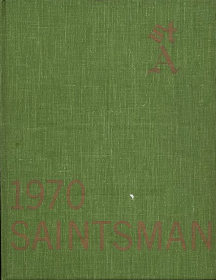 1970 St. Augustine High School Yearbook Cover