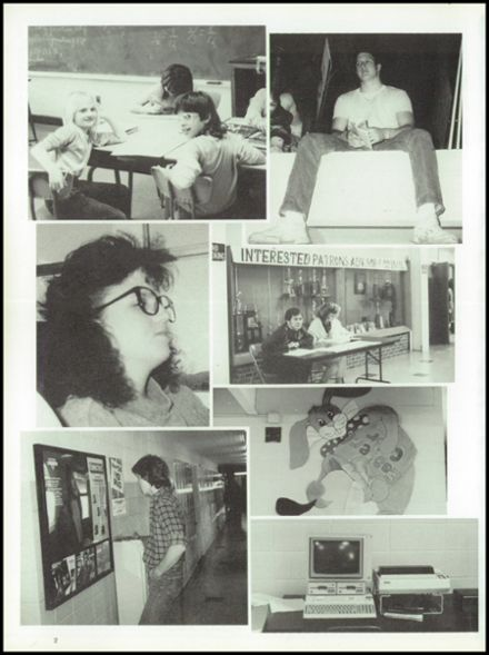 1989 Iberia High School Yearbook Page 6