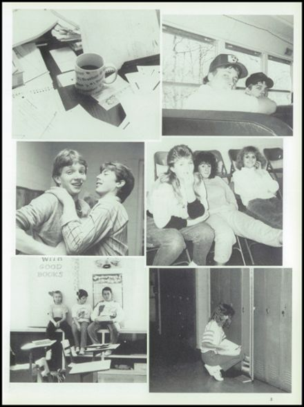 1989 Iberia High School Yearbook Page 7