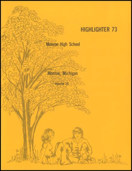 1973 Monroe High School Yearbook Page 5