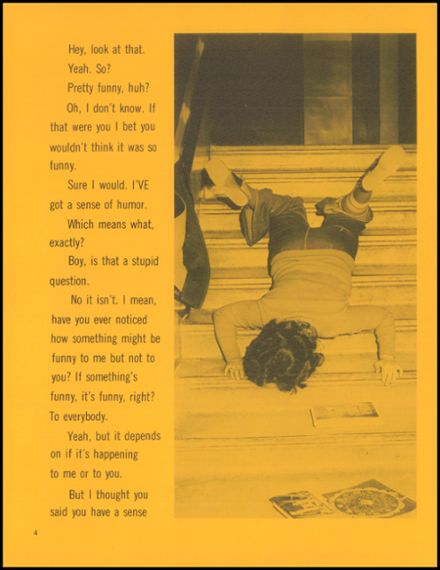 1973 Monroe High School Yearbook Page 8