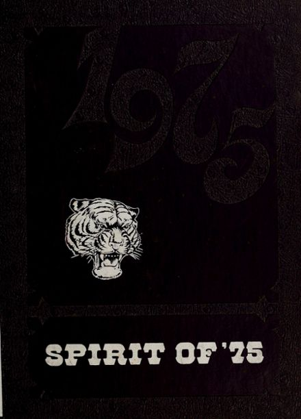 1975 Grand Valley Community School Yearbook Cover