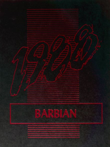 1988 St. Barbara High School Yearbook Cover