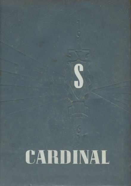 1961 Sheffield High School Yearbook Cover