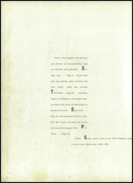1961 Sheffield High School Yearbook Page 6