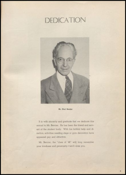 1948 Arlington High School Yearbook Page 5