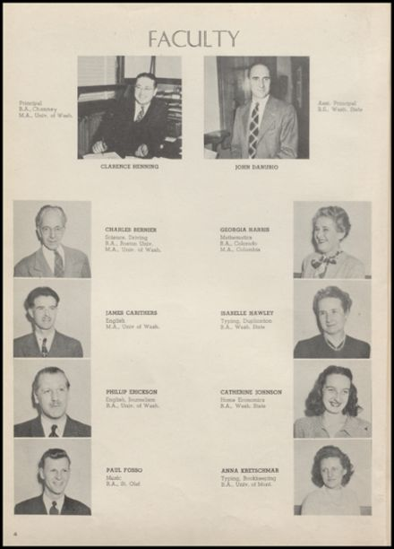 1948 Arlington High School Yearbook Page 6