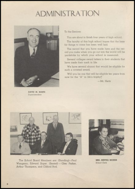 1948 Arlington High School Yearbook Page 8