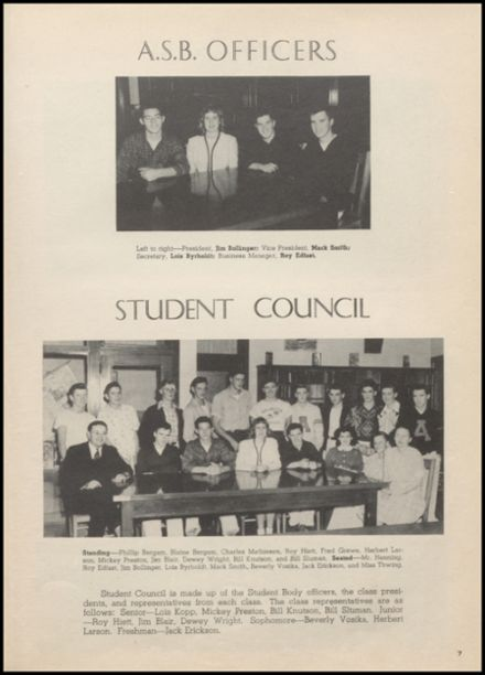 1948 Arlington High School Yearbook Page 9