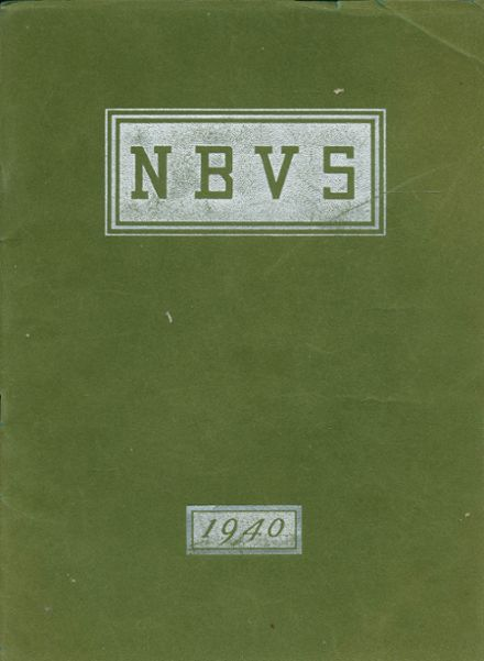 1940 New Bedford High School Yearbook Cover
